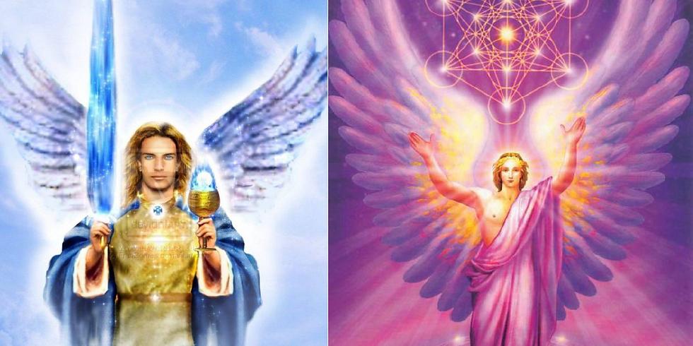 Soin énergétique de libération émotionnelle avec les archanges Mikaël et Metatron
