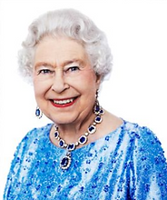 HM The Queen portrait by David Bailey commissioned for Great