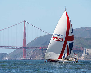 Great Britain entry for the Clipper Round the World Yacht Race in San Francisco