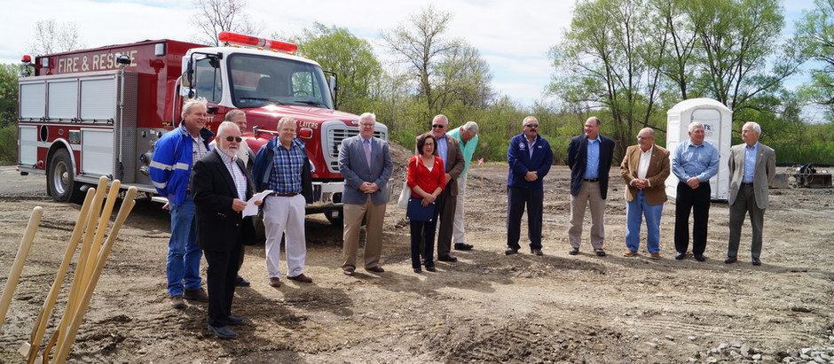 Burdett Fire Hall Groundbreaking