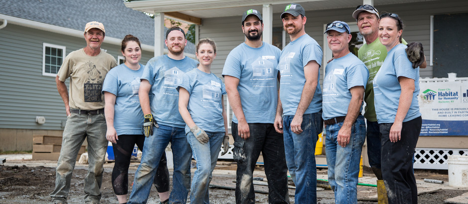 HUNT Supports Habitat for Humanity