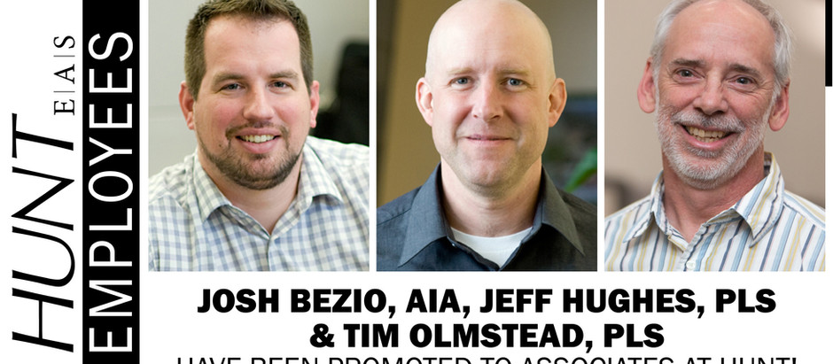 Three New Associates Named Within HUNT