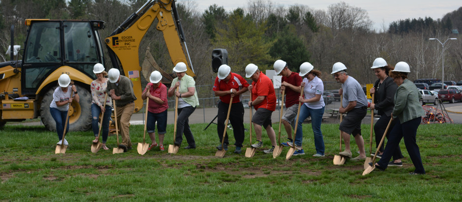 Groundbreaking for Troy ASD's New Track and Field