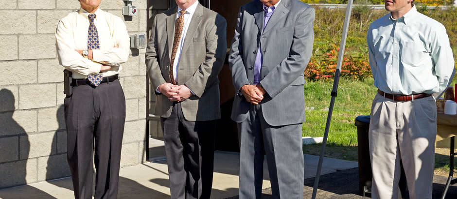 Interconnected Water System Ribbon Cutting in Big Flats, NY