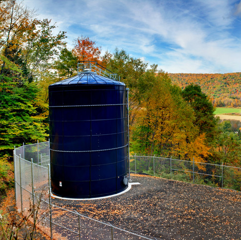 Town of Catlin Water District Tank & Well House