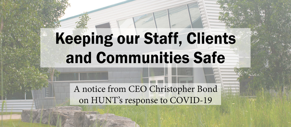 HUNT's Response to COVID-19