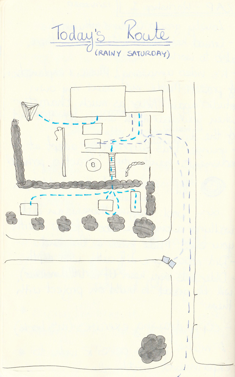 Sketchbook, R Rothwell, 2020