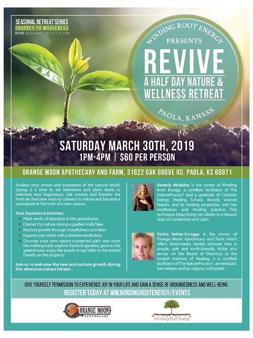 REVIVE 2019: A HALF DAY NATURE & WELLNESS RETREAT