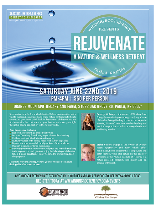REJUVENATE 2019: A HALF DAY NATURE & WELLNESS RETREAT