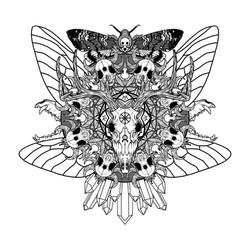 Skull Mandala Commission