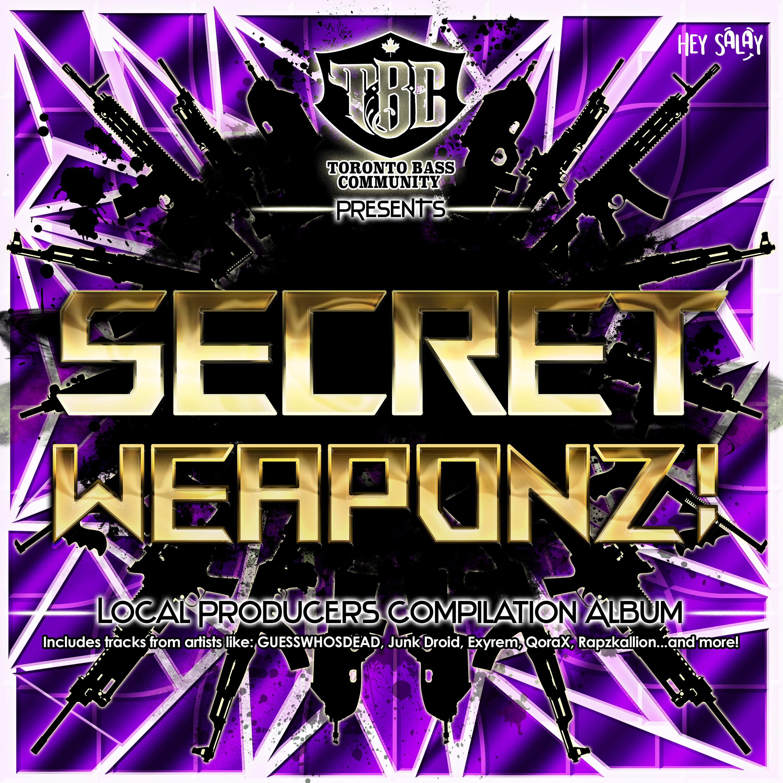 TBC: Secret Weaponz! Cover Art