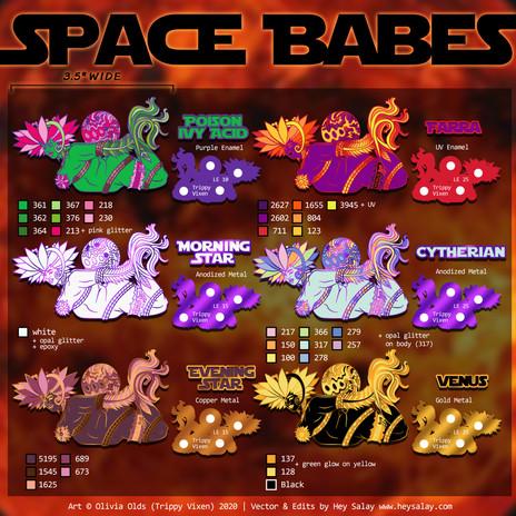 Space Babe Venus