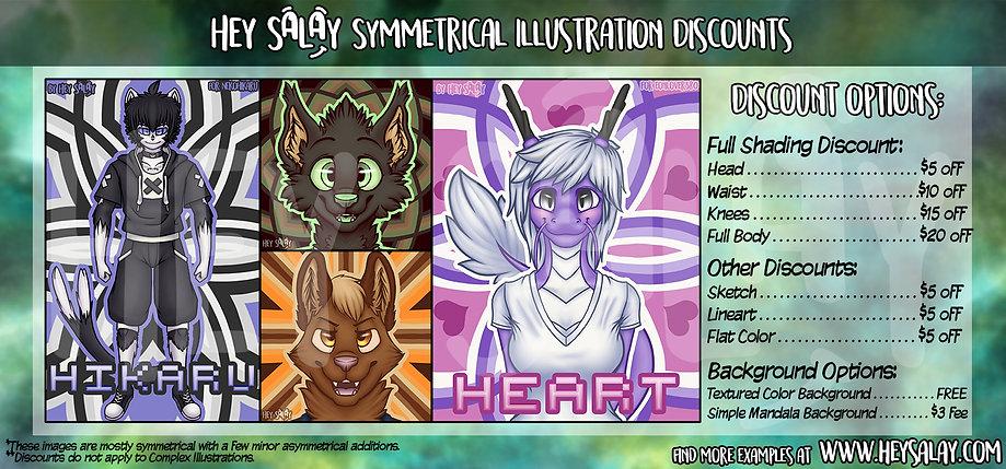 HeySalay's Illustration Commission Options