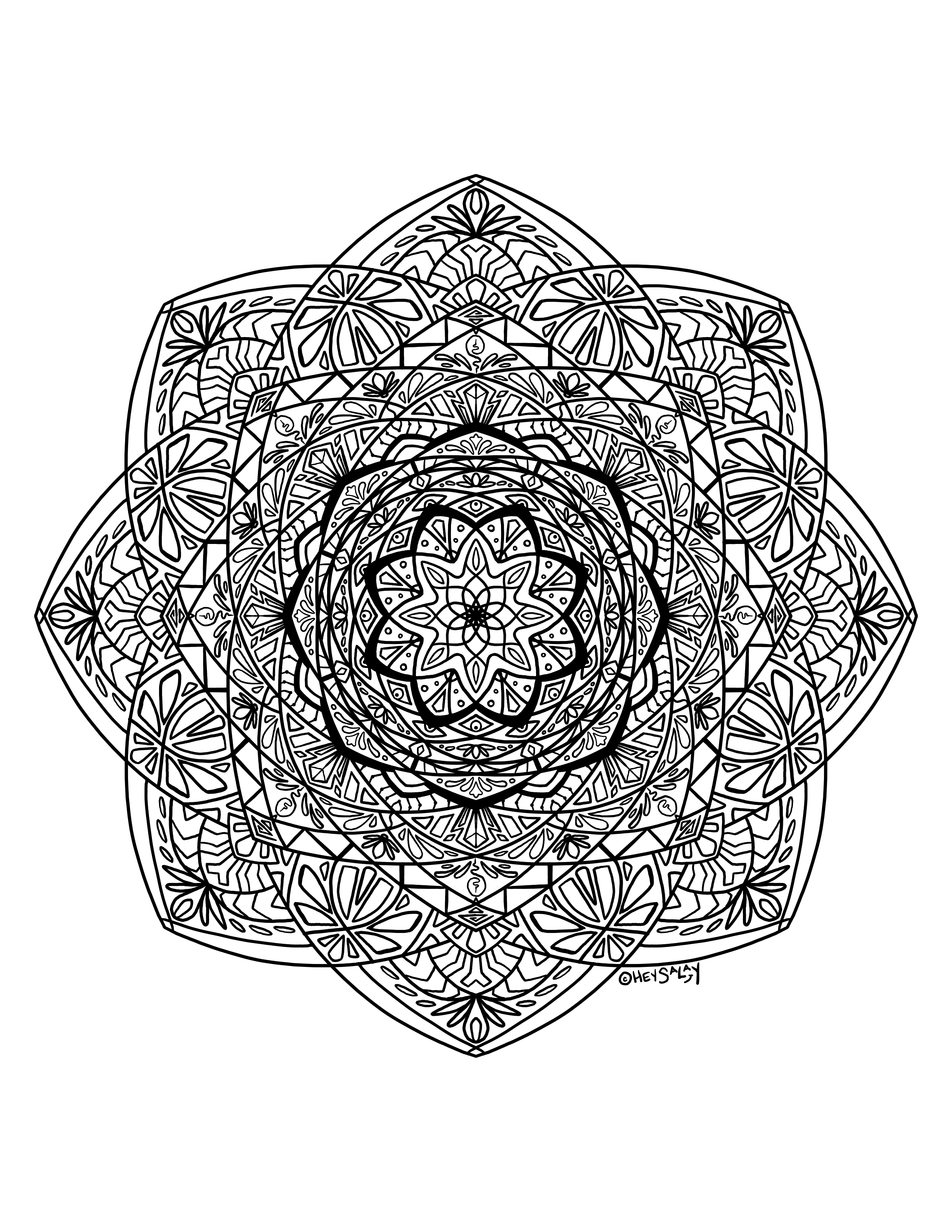 Mandala by Brittany Salay