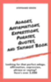 Cover page for Adages.jpg