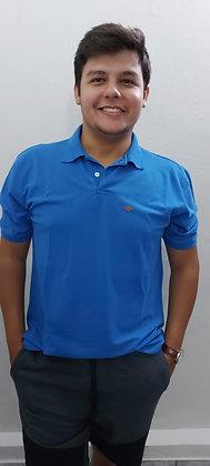 Camisa polo piquet sem bolso