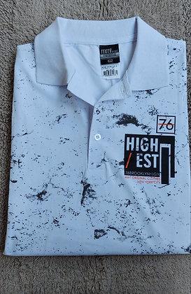 Camisa polo meia malha plus size
