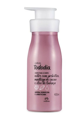 Creme Desodorante Nutritivo para o Corpo Amora Vermelha e Jabuticaba Tododia - 4