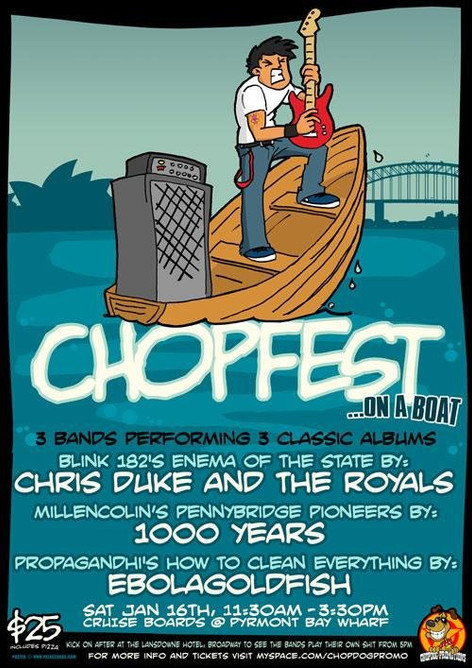 Chopfst on a Boat (2010)
