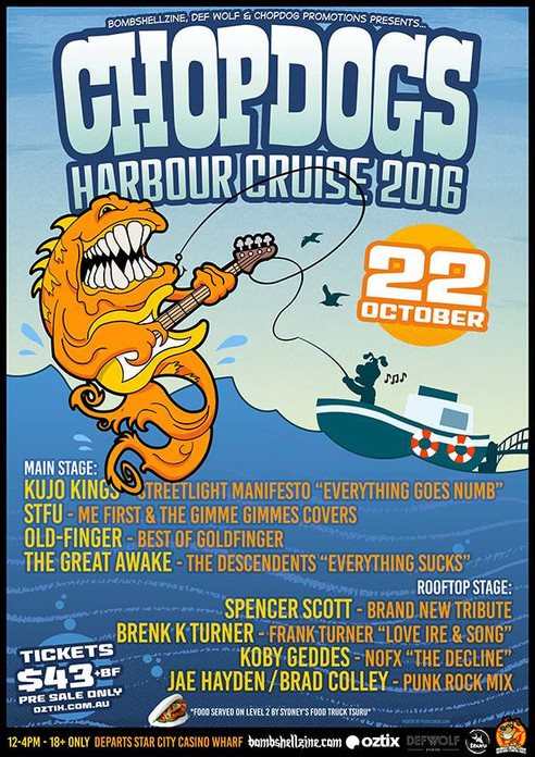 Chopdogs Harbour Cruise #2 (2016)