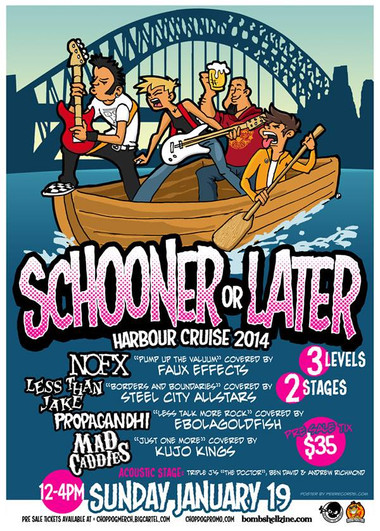 Schooner or Later (2014)