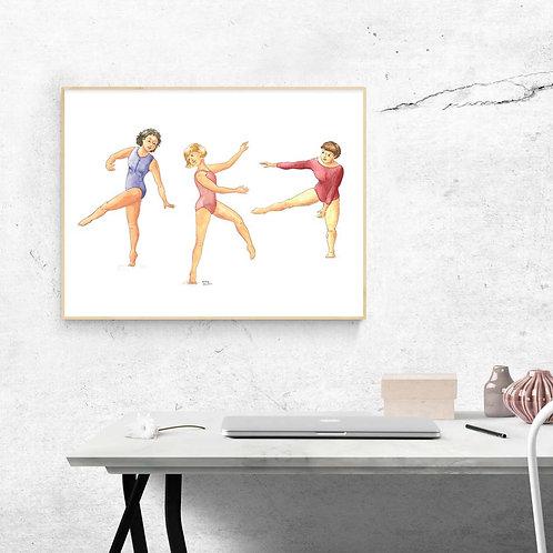 Affiche Danseuses
