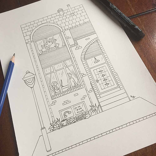 Your house to color!