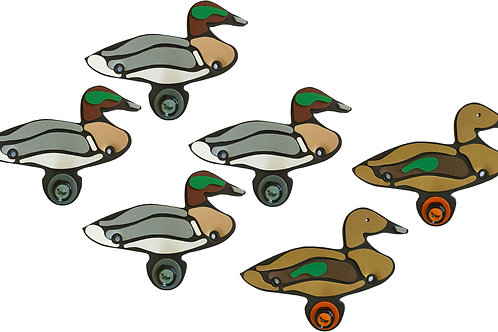 Green-Winged Teal Sixes