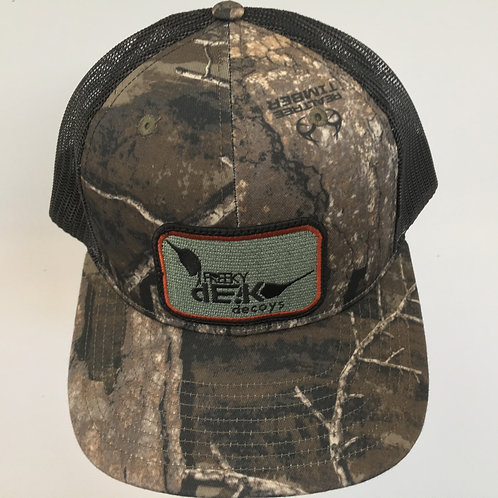 Timber/Black (Realtree Camo) Hat