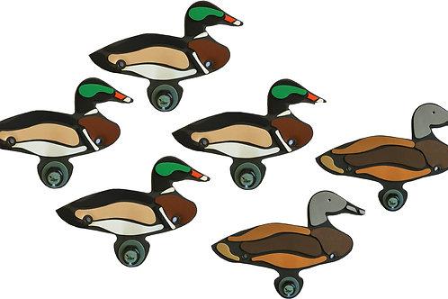Wood Duck Sixes