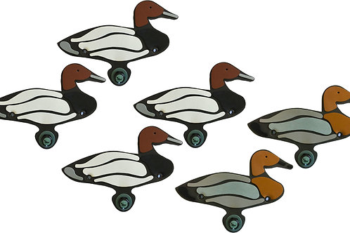 Canvasback Sixes