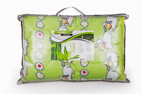 Одеяло, среднее, плотность 300 гр/м2, Овечья шерсть, чехол полиэстер