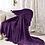 "Thumbnail: Плед ""Мадмуазель Бато Лавуар"" помпон фиолетовый"