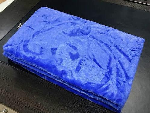 Плед Искусственный мех (синий)
