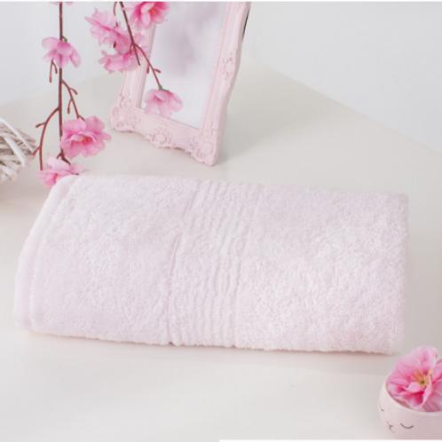 Полотенце бамбуковое Розовый туман