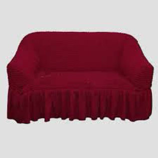 Чехол на диван бордо