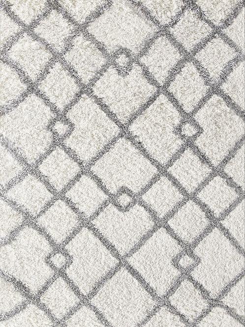 Moroccan design shag rug