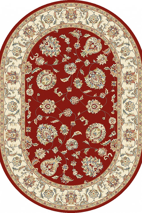 Classic Traditional Design Oval