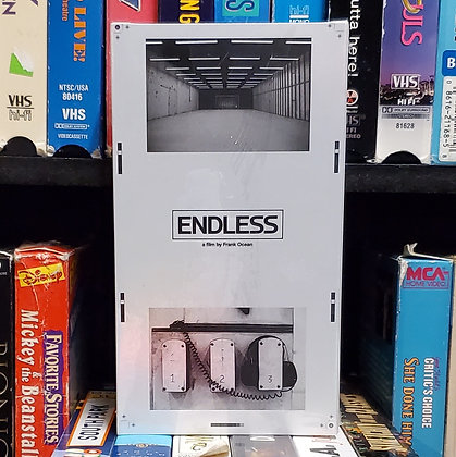 Frank Ocean - Endless • [VHS] [Rare Mint Sealed Copy]