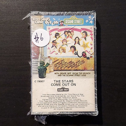 Various–The Stars Come Out On Sesame Street (Sealed!)