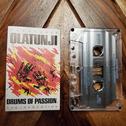 Babatunde Olatunji–Drums Of Passion: The Invocation (Afrobeat)