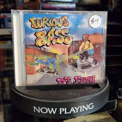 DJ Fury - Furious Bass (CD)