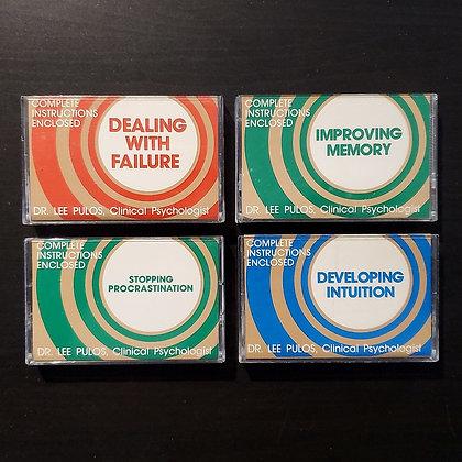 Dr. Lee Pulos - 4 x Cassette Lot