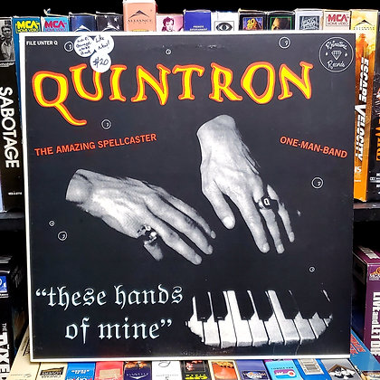 Quintron–These Hands Of Mine [Like New!] [Lo-fi Garage Noise Rock]