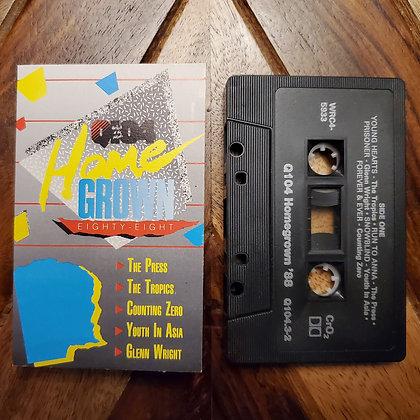Various–Q104 Homegrown '88 (Indie Rock, AOR, Pop Rock)