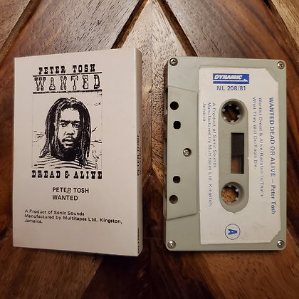 Peter Tosh–Wanted Dread & Alive (Made In Jamaica) (Rare misprint)
