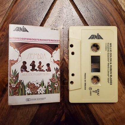 Willie Colon &Ruben Blades–Siembra (Latin Funk, Salsa) (Hard to find)