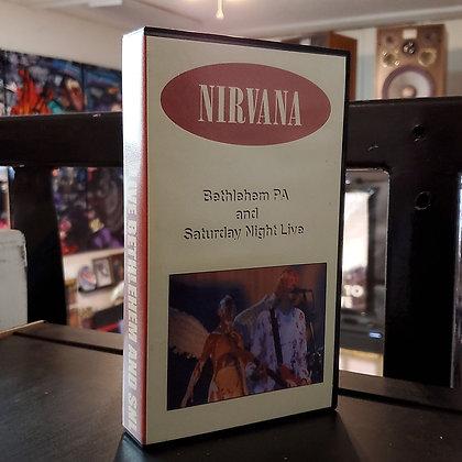Nirvana - Bethlehem PA and Saturday Night Live (VHS)