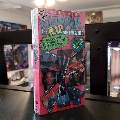 Slammin' - The Rap Video Magazine (VHS)