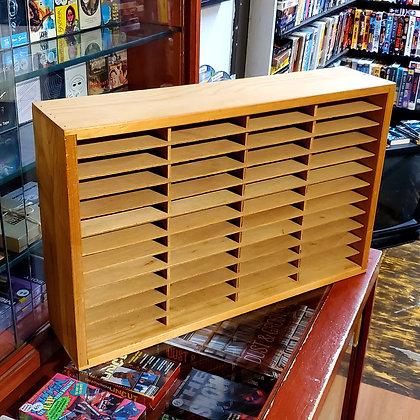 Solid Wood Retro 8-Track / NES Cart Shelf
